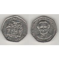 Ямайка km164 1 доллар 2005 год (al)(f16)