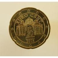 20 евроцентов 2016 Австрия