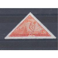 [543] Италия 1959.Спорт.Универсиада.