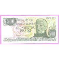 Аргентина 500 песо UNC