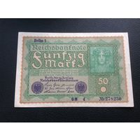Германия,50 марок,1919.