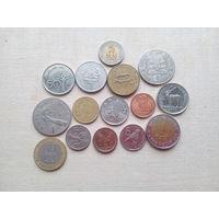 Лот монет Африки (Зимбабве, Замбия, Намибия и т.д.) - с 10 копеек!