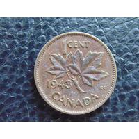 Канада 1943 г. 1 цент. Георг VI.