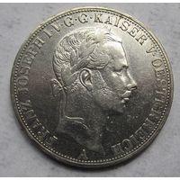 Австрия, талер, 1858, серебро