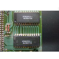 Микросхемы ПЗУ для ретро-компьютера БК-0010.01 : КР1801РЕ2Б-017 (Монитор), 018 (Фокал), 019 (Тесты), 084 (Фокал УИВ)