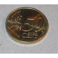 50 евро центов 2015 Литва