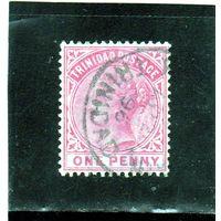 Тринидад и Тобаго.Ми-31.Королева Виктория. Серия: TRINIDAD. 1883.