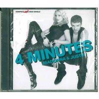 CD Maxi-single Madonna & Justin - 4 Minutes (29 Apr 2008)  Progressive House, House