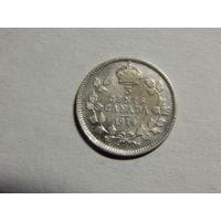 Канада 5 центов 1914г