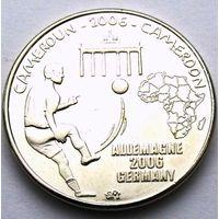Камерун. 1500 франков 2006 год / ФУТБОЛ / Без эмблемы / UNC X#29