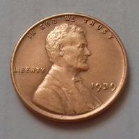 1 цент, США 1939 г.