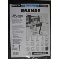 Листы промежуточные GRANDE zwl , упаковка (5шт.), черные, новые.