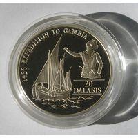 Гамбия 20 Даласи 1993 , Серебро (98)