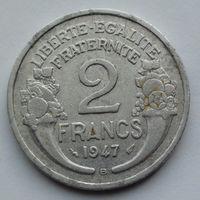 Франция 2 франка. 1947. В