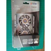 Охлаждение жесткого диска TITAN Twin-Fan H.D.D. Cooler HD-22