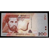 РАСПРОДАЖА С 1 РУБЛЯ!!! Албания 200 лек 2007 год UNC