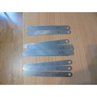 Щупы для проверки зазоров ( 0,2 - 0,4 - 0,15) одним лотом