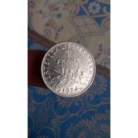244# 1 франк 1974. франция