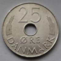 Дания, 25 эре 1976 г