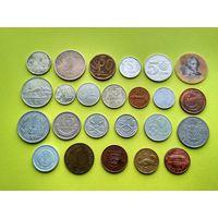 Лот 1 иностранных монет без повторов.