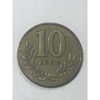 10 лек, 2009 г., Албания