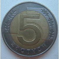Польша 5 злотых 2010 г.