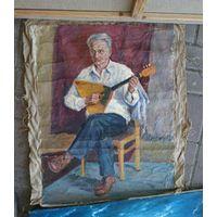 Балалаечник , музыкант , картина