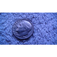 США 10 центов 1999D.  распродажа