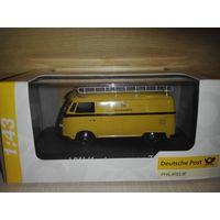 VW Kastenwagen T1 Deutshe Post,Schuco.1/43.