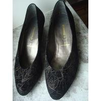 Новые фирменные кожаные туфли SALAMANDER из Германии 40-ого размера. Ортопедическая колодка