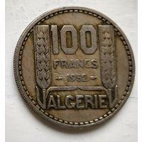 Алжир 100 франков, 1952  3-4-8