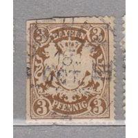 Бавария 1888 -1900г ? Германия  Герб    лот 2