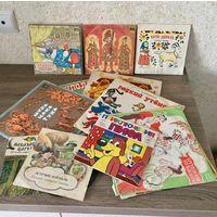 Лот пластинок , детские сказки СССР