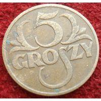 9119:  5 грошей 1935 Польша