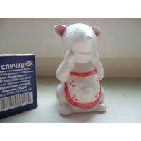 Фигурка фарфоровая Мышь