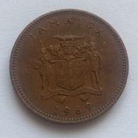 Ямайка,1 цент 1969