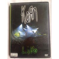 РАСПРОДАЖА DVD! KORN - LIVE