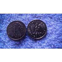 Польша 1 грош 2012г. распродажа