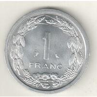 Камерун 1 франк 1969