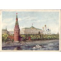 1954 год Москва Кремль