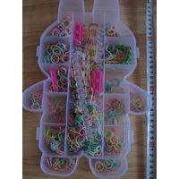 Контейнер с  резинками для плетения браслетов