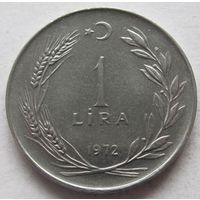 Турция 1 лира 1972