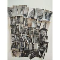 Много советских открыток маленького формата.