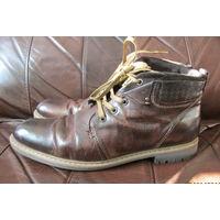 Стильные ботинки BUGATTI, 44-45р., 29,5 см.