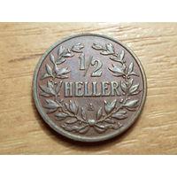 Германская Ост-Африка. 1/2 геллера 1904 г.
