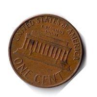 США. 1 цент. 1974 г.