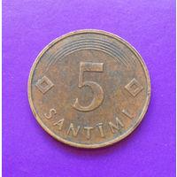 5 сантимов 1992 Латвия #01