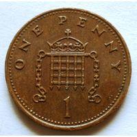 1 пенни 1988 Великобритания