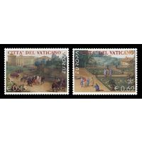 2004 Ватикан 1489-1490 Европа. Отдых Живопись ** (РН)