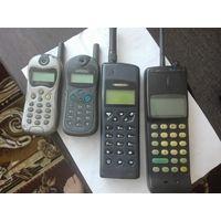 Телефоны коллекционные НОКИА БЕНЕФОН и 2 алкателя